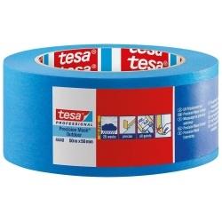 TESA® Professional 4440 Nastro in carta di alta qualità per la mascheratura di bordi netti e precisi in esterni 25mmX50mt