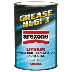 GRASSO MULTIUSO AL LITIO GREASE NLGI 3 850gr AREXONS